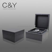 New design custom made matte finish wood watch box
