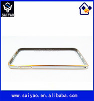 Anti Scratches shining metal mobile phone bumper frame aluminum case for Samsung Galaxy S6