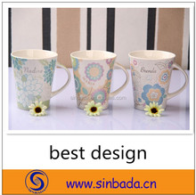 factory direct sale porcelain type printed coffee mugs