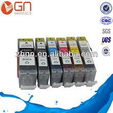 cartucho de tinta GN fábrica cartucho de tinta compatible para Canon PGI-250 CLI-251 para Canon pixma mg5420 mg6320 ip7220 mx722