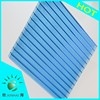 UV protection 10-year warranty polycarbonate hollow sheet solar panels used awnings for sale