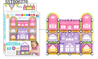 hot tower style magentic 3D building toy,baby educational toy