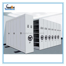 Mechanical Mobile Metal Manual Archives Compact,mobile storage cabinet
