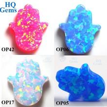 Hand Shape Synthetic Opal