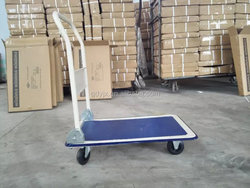 PH150 four wheels foldable hand trolley/platform hand truck