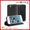 The new brand Black Vintage leather case for iphone 5, customized leather case for iphone 5 china manufacturers