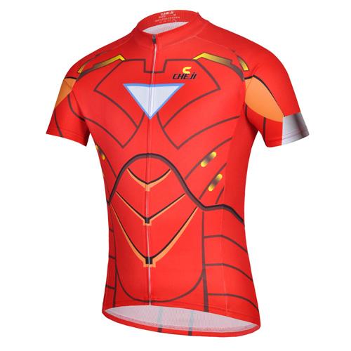 Costumized iron man led t- shirt