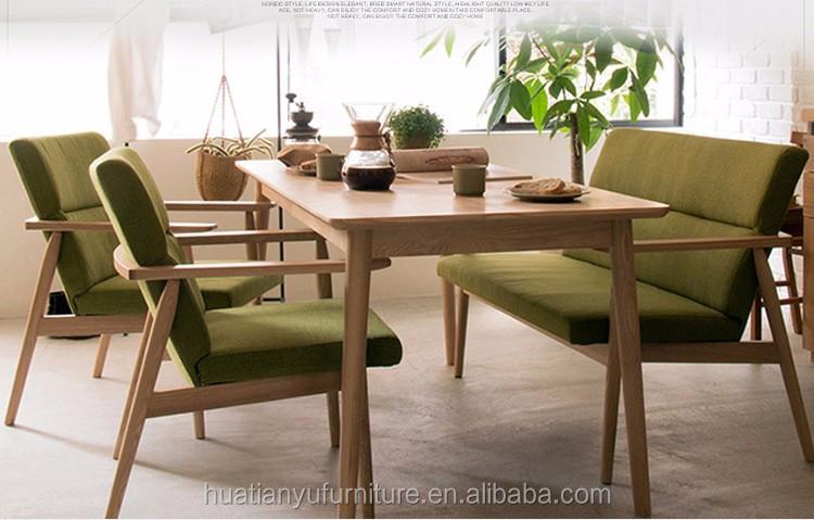 restaurant möbel schnitts eichenholz ecke esstisch und stuhl setzt, Esstisch ideennn