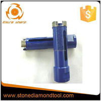 Electroplated Dry Diamond Core Drill Bit with M14 Thread