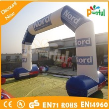 good design cheap inflatable finish line arch/inflatable advertising arch for sale
