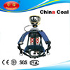 China coal group 2015 hot selling self contained breathing apparatus SCBA with 3L steel cylinder for fire fighting using
