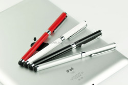 2014 popular stylus touch metal ball pen for mini ipad TC-TS006