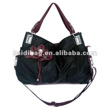 2012 Designer bag leather handbag for women(black)(KD8329-29(2))