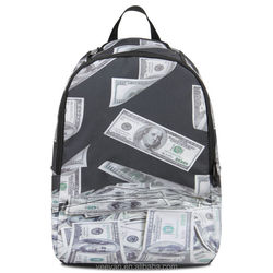 Fashionable school bags 2015,new design polyester school bags for teenagers