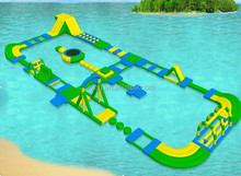 inflatable floating water park,inflatable water island