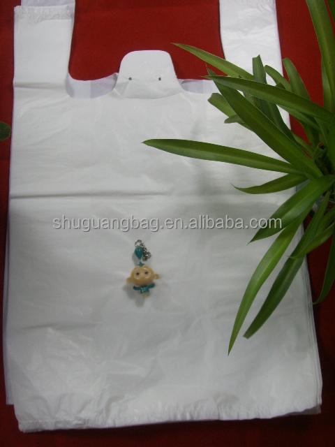 2011 Fashion Color Plastic T-shirt Bag