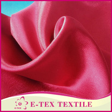 Good quality polyester crepe satin curtain fabric