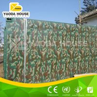 High quality top selling hotel container house