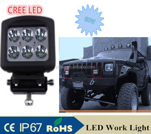 Hot Sale CREE LED driving light 60W SUV Auto flood LED work light working lamp