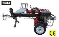 BW1911 CE 37T Electric Start Diesel Oil Engine Hydraulic Log Wood Splitter