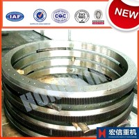 Forged steel big ring gear for equipment