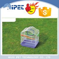 Ipet New Design Foldable Wire decorative bird breeding cage Pet House