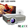 2015 Factory manufacture Full hd 1080P hdmi 3d led projector 1920x1080 with AV USB VGA SD HDMI