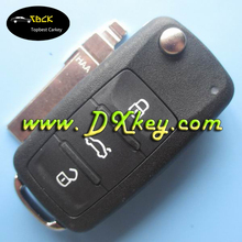 Best price 3 buttons remote key for vw passat remote key 5K0 959 753 AC/753n 202D