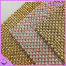 pearl crystal mesh fabric rhinestone crystal rhinestone sew on strip mesh