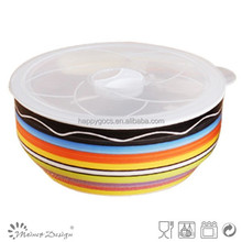 good wholesale ceramic bowl plastic lid