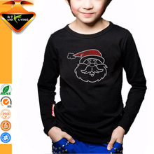 Fashion Design Rhinestone Transfer Kids T shirt