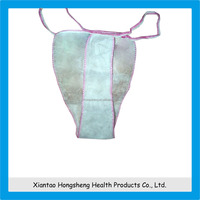 Hot Sale Disposable non-woven sexy women underwear pictures