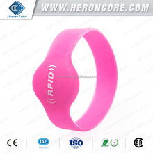 2015 HOT HF passive silicone RFID wristband/Bracelet with free sample for test