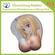 custom hot sexy picture mouse mat sexy hot boob breast gel mousemat