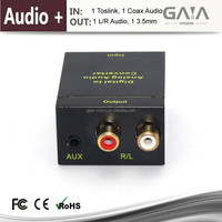 Digital to Anolog Converter with 3.5mm Audio Converter for sound HDMI Converter