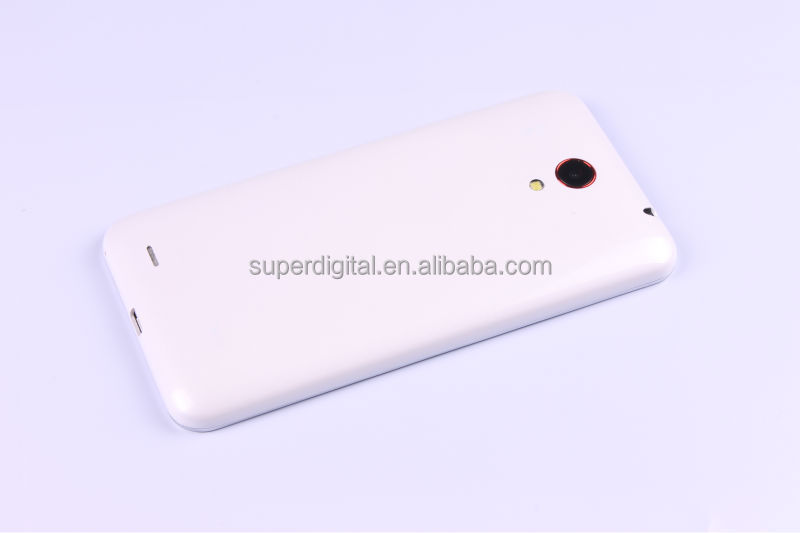 5inch 3G android mobile phone mtk6572 dual core support TV S005