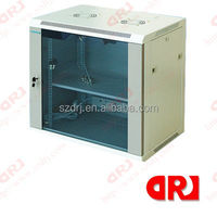 19'' glass door Wall Mounted Cabinet,network server cabinet lock