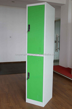 factory promotional new style swing 2 doors metal clothes cabinet