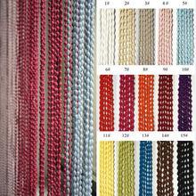 pellets de moda cadena de cortina de la puerta con fuzzy bolas