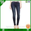 quility alta nueva sexy de la moda diseño elástico denim slim fit jeans al por mayor