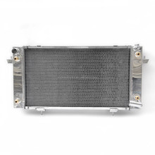 For 1987-1998 DISCOVERY SERIES 1 3.9 V8 with twin oil coolers Duel Core Alloy Radiator
