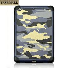 High quality pu leather case for iPad mini 3 Camouflage Pattern hard case for apple iPad mini 3