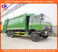 10 wheeler Dongfeng garbage compactor truck for sale, China garbage compactor truck price, 16cbm compressed garbage truck