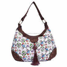 Tassel lady hobo bag/manufacture cosmetic bag