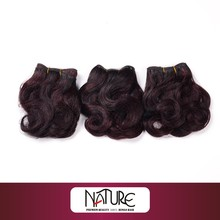 Henan REBECCA wholesale cheap 100% Indian human hair extension100% natural indian human hair price list