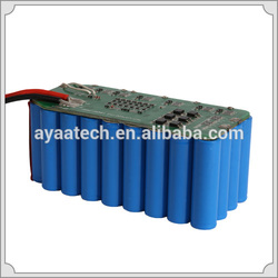 25.9V battery pack 13Ah 7S5P Li-ion/LiFePo4 battery pack for medical device/portable Defibrillator