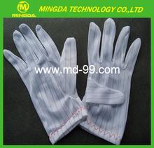 Sala blanca de nitrilo guantes, esd guantes de trabajo( s), guantes para salas blancas, delgada guantes de trabajo