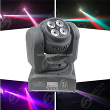 dmx moving head 12W 4in1 and 4x4in1 mini beam smart beam projector
