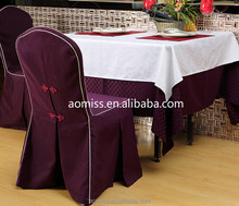 100% polyester table cloth restaurant table linens western-style table cloth chair covers