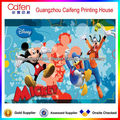 La tarjeta de papel para los niños, la imagen de dibujos animados de la tarjeta de papel/de impresión de tarjetas